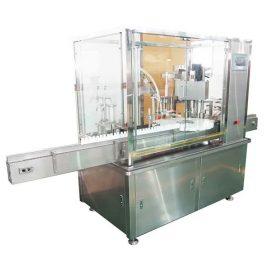 ピストンポンプが付いている10ml-100ml E液体のびんの詰物そしておおう機械