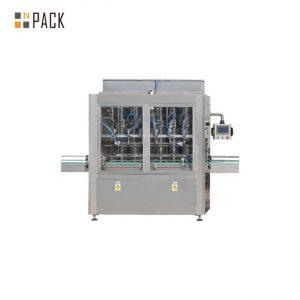 PLCは1-5L漂白剤の洗剤のための10の頭部の重力のびんの充填機を制御します