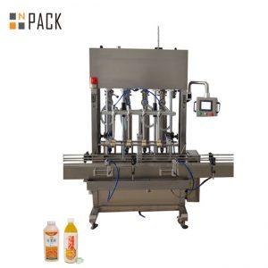 10ヘッドペースト充填機低/高粘度流体用の広い充填範囲