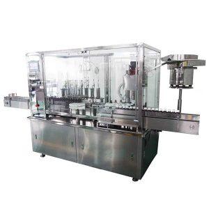 8薬剤の生産ラインのためのヘッドシロップの自動充填機およびおおう機械