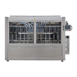 自動オリーブオイルのガラスビンの充填機およびおおう機械