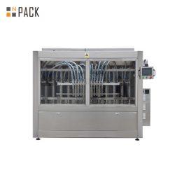 PLCは250ML-5L液体石鹸/ローション/シャンプーのための自動のりの充填機を制御します