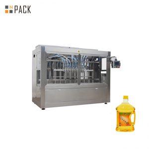 ステンレス鋼の流れの容積測定の充填機、時間ベースの自動充填機