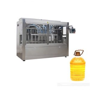 350ML-5L食用油のためのペットびんののりの充填機の包装機械
