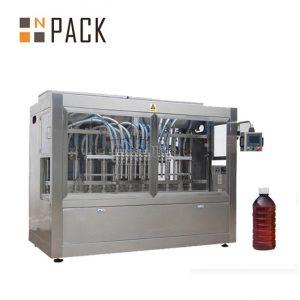 化学薬品/肥料/殺虫剤のための線形8頭部の自動液体の充填機