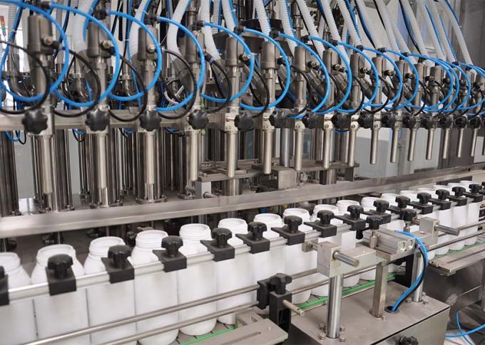 PLCは高い生産効率の洗濯洗剤の充填機ラインを制御します