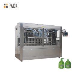 びんUnscrambler機械が付いている線形1L食器洗い機ペットびんの満ちるライン