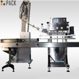50ml-1Lの殺虫剤のための高い修飾された率の回転式びんのおおう機械は120 CPMをびん詰めにします